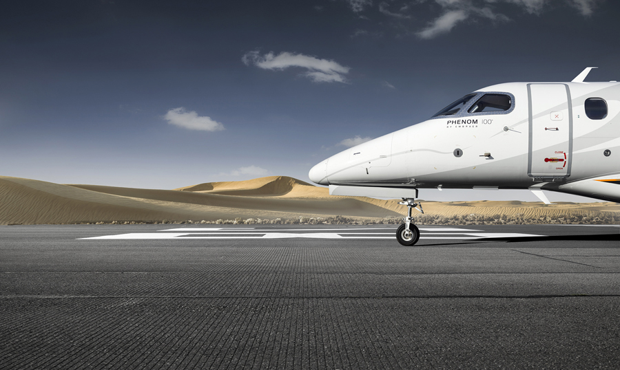Tim Wallace: Embraer Phenom 100