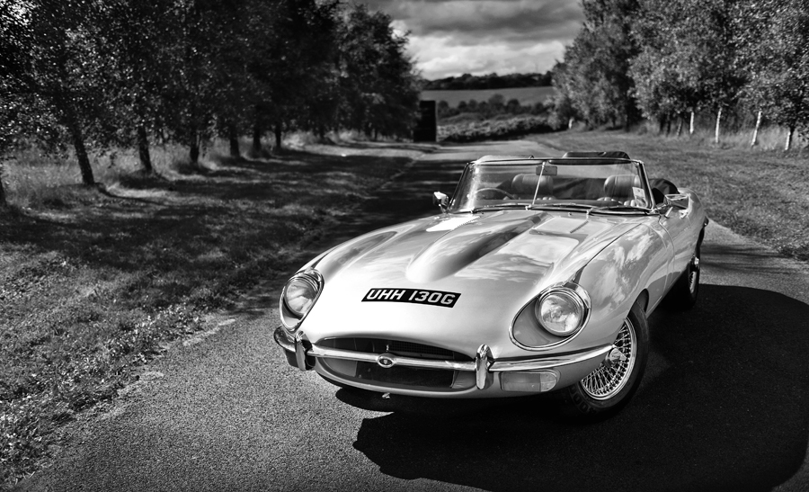 Jaguar E Type   Quintessentially British