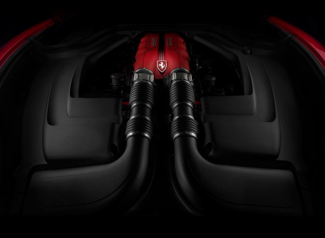 car photographer, ferrari, engine, studio photography, car photograph, commercial photography, tim wallace