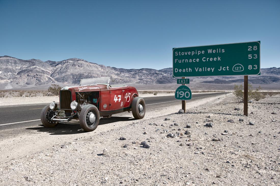 hotrod in desert, car photographer, photography, car photograph, commercial photography, tim wallace