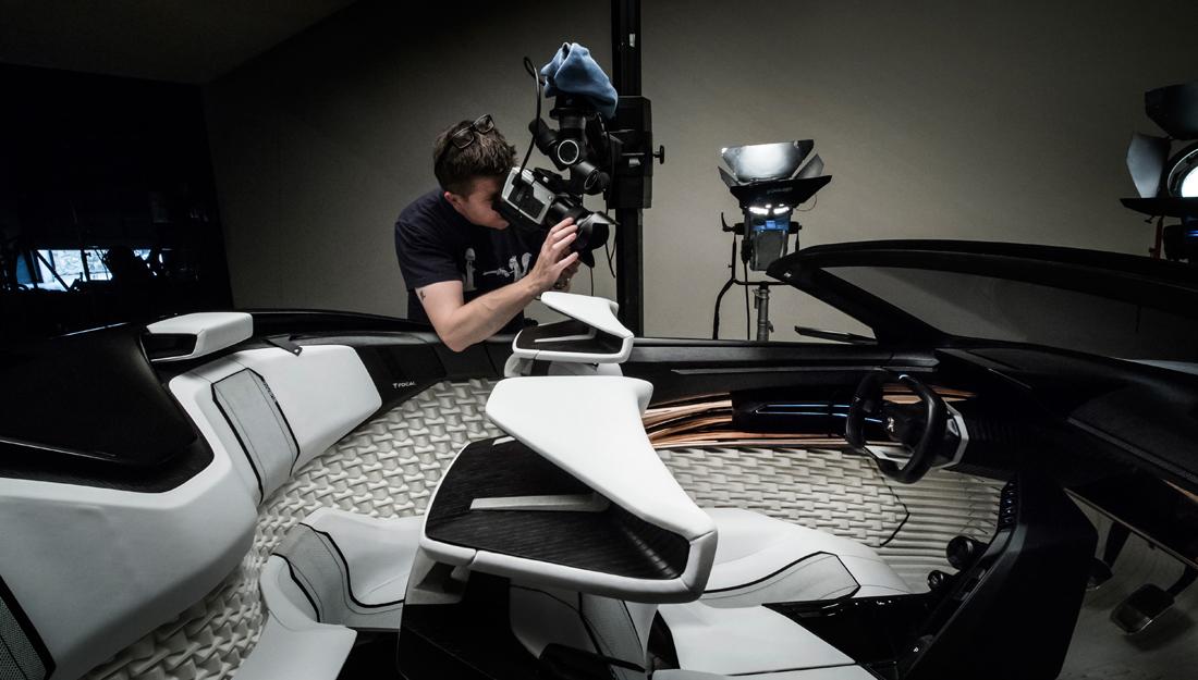 car photographer tim wallace in studio, car photograph, commercial photography, tim wallace