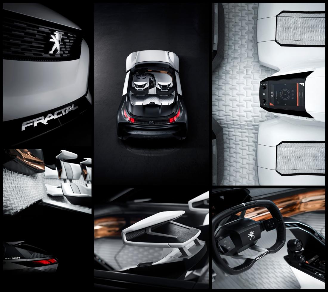 car photographer, prototype, fractal, peugeot, studio photography, car photograph, commercial photography, tim wallace