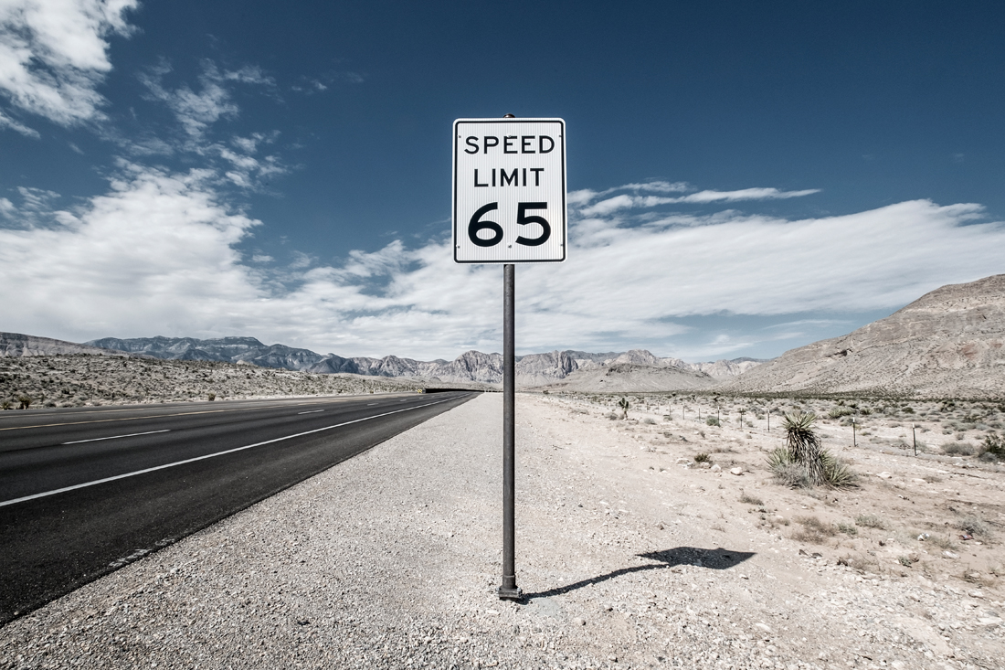 speed limit sign in dessert, tim wallace commercial photographer, stock photography, commercial photography, tim wallace