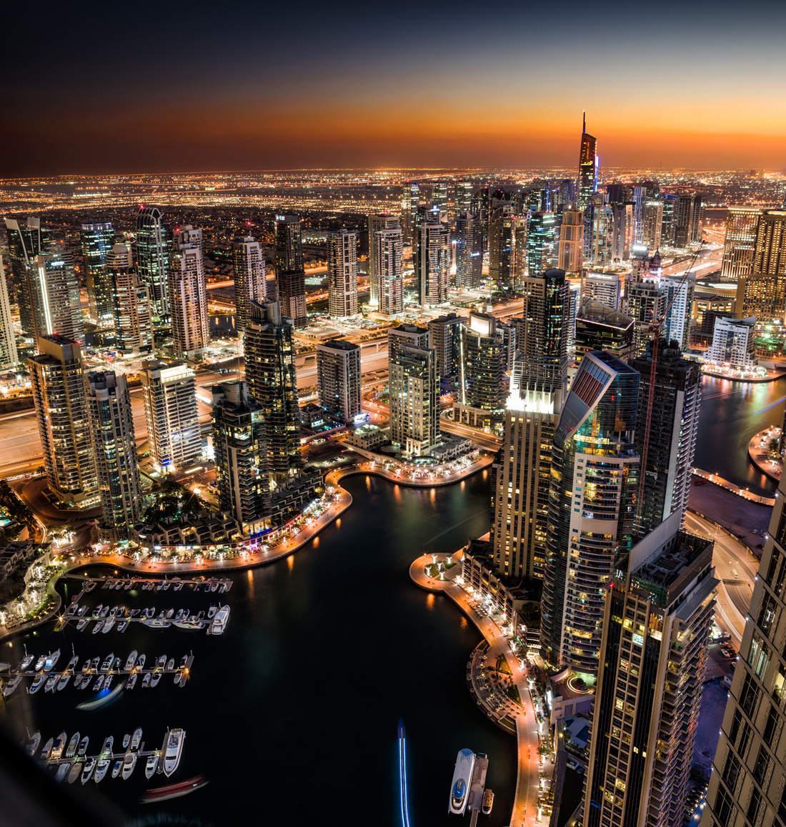 dubai at night, tim wallace commercial photographer, stock photography, commercial photography, tim wallace