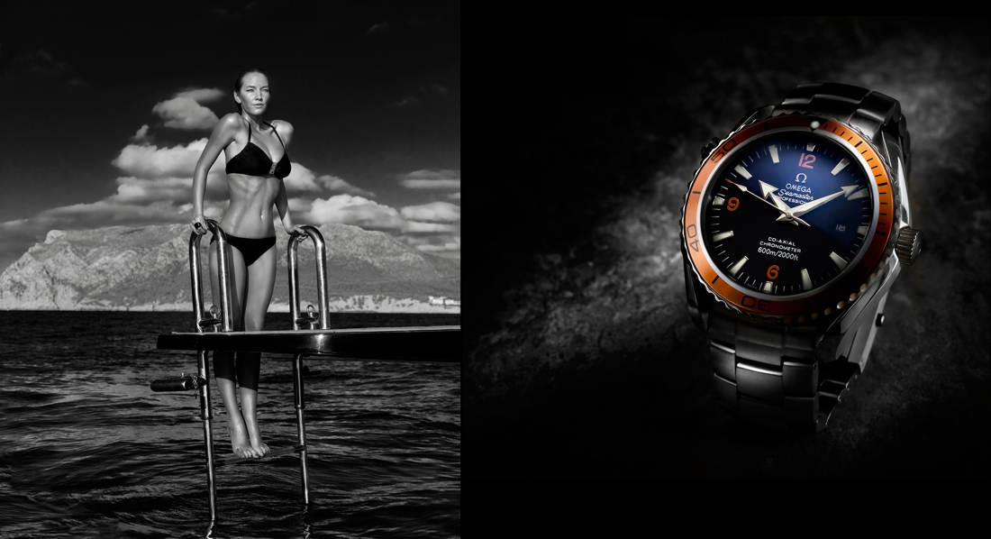watch and woman swimming, tim wallace commercial photographer, stock photography, commercial photography, tim wallace