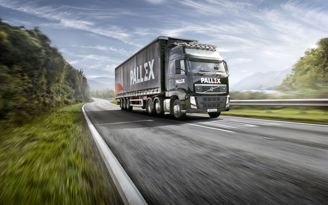 large truck on road, open road, HGV, truck photographer, location photography, professional truck photograph, commercial photography, tim wallace
