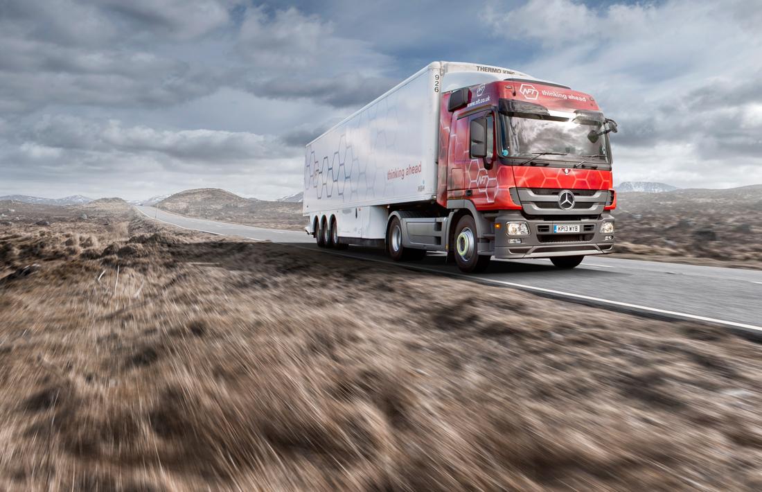 NFT Logistics, brochure, logistics photography, supply chain, photography, truck photography, commercial photography, tim wallace