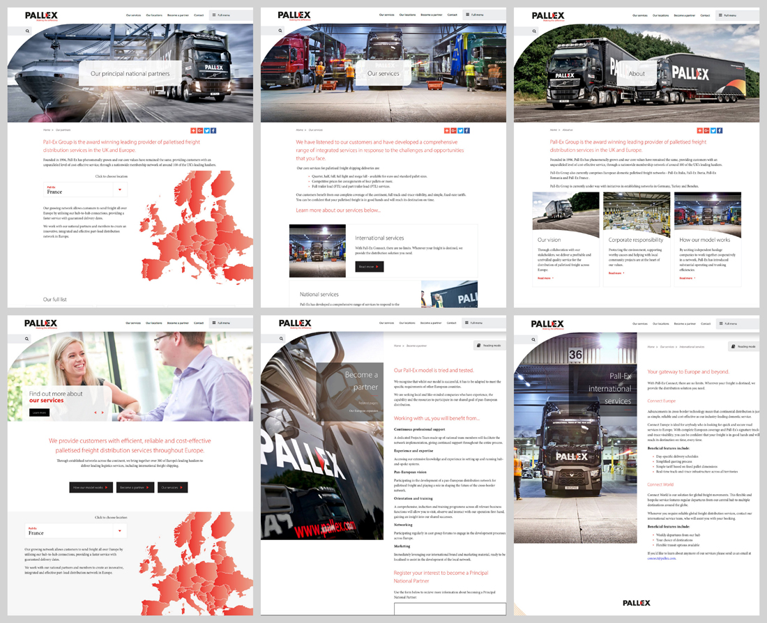 logistics photography, pallex brochure, supply chain, logistics photographer, professional truck photograph, commercial photography, tim wallace