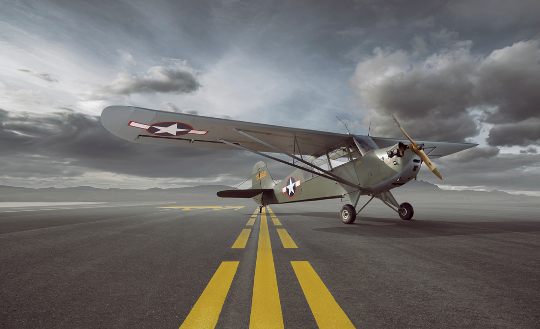 aircraft on runway, classic warbird aircraft, aviation photography, commercial photography, tim wallace