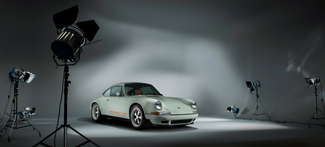 Porsche in studio, car photographer, photography, car photograph, commercial photography, tim wallace