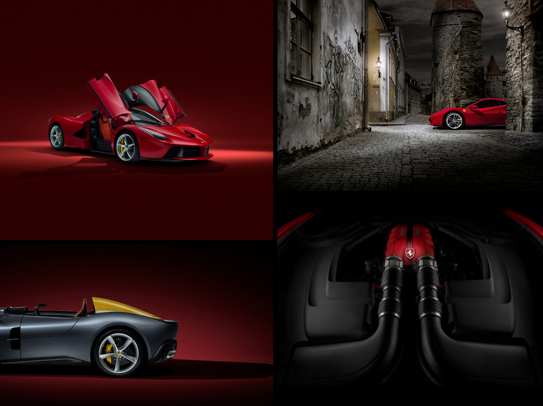 car photographer, ferrari, car photograph, commercial photography, tim wallace