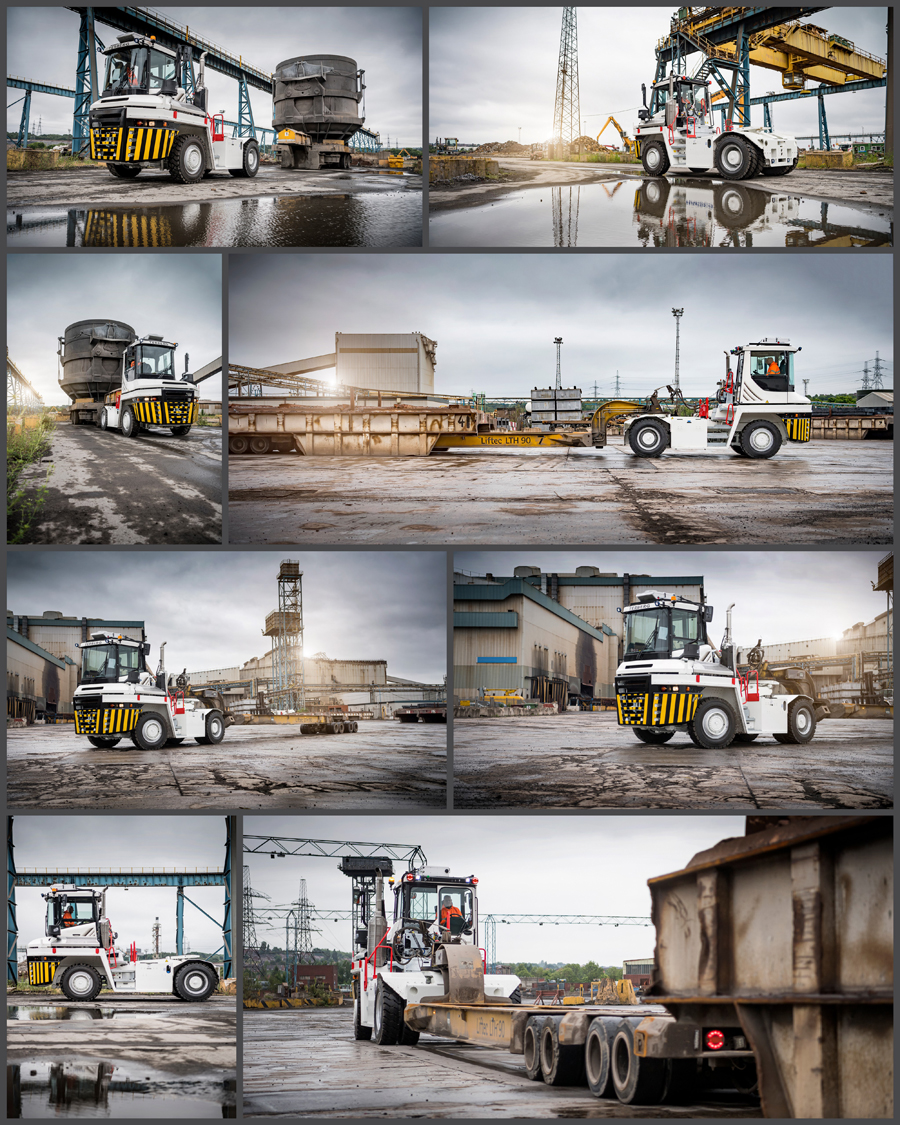 truck, truck photography, vehicle photography, terberg, yard truck, truck photographer, studio photography, professional truck photography, commercial photography, tim wallace