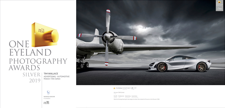 car photographer, awards, car photography, commercial photography, tim wallace