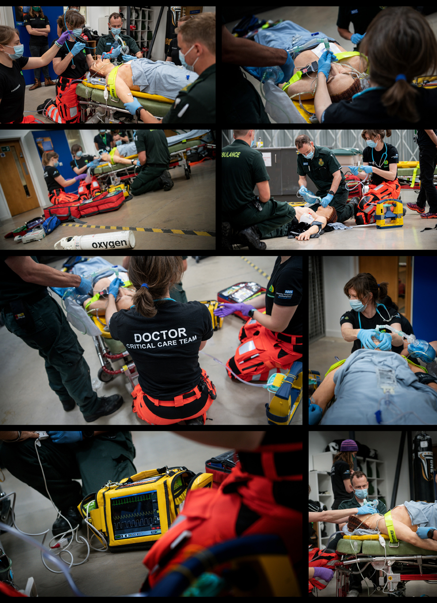 HEMs, air ambulance, NHS, Doctor, critical care, paramedics, commercial photography, tim wallace