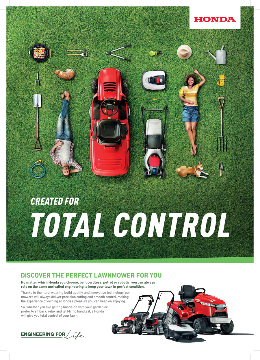 honda, lawnmower, product photography, studio photography, commercial photography, tim wallace
